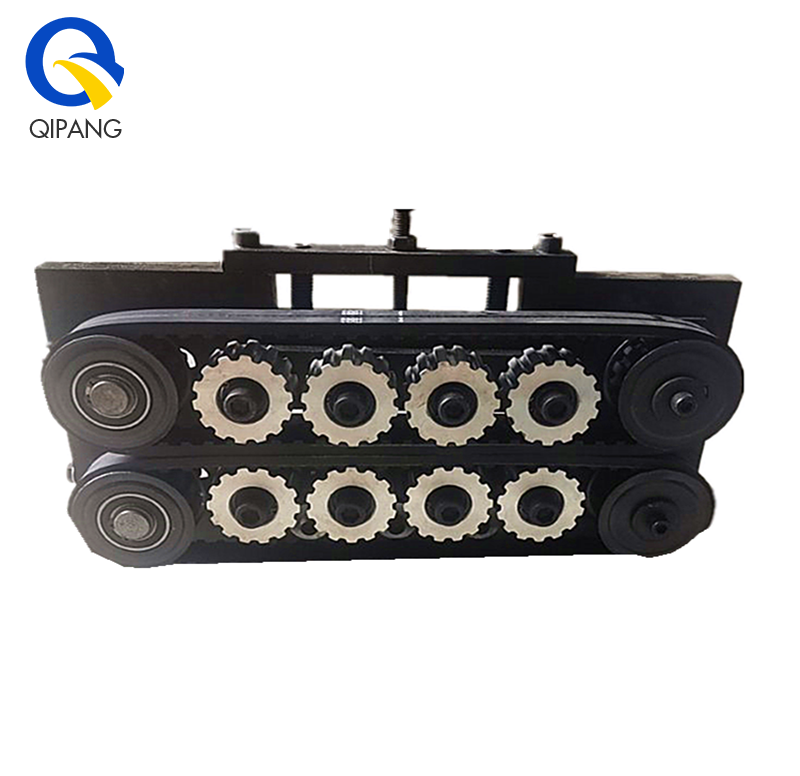 QIPANG low cost  pipe or tube durable belt traction for wire straightening tool manufacturer