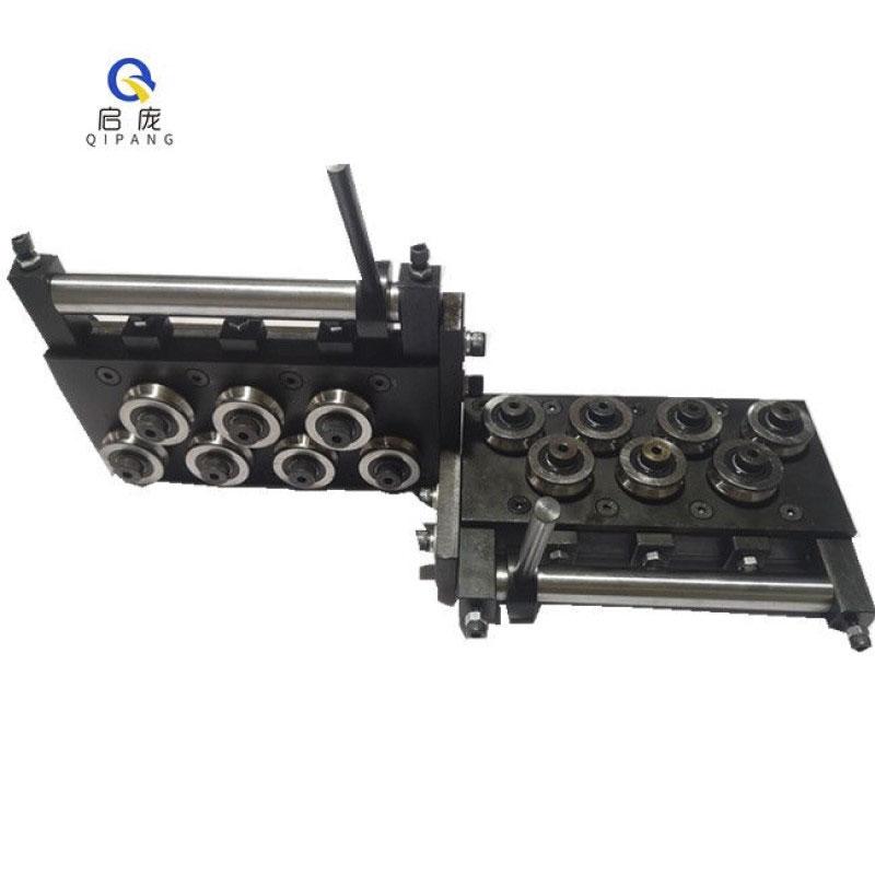 Qipang new type cam handle straightener14 rollers wire straightening machine steel  wire straightening tool
