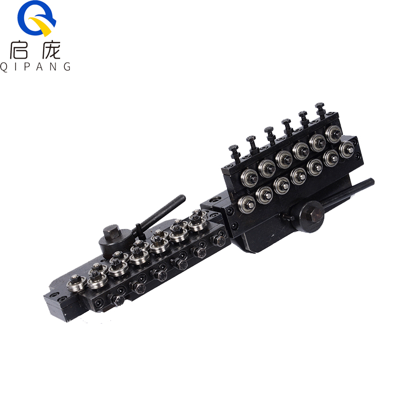 QIPANG 0.5-0.8mm A.V. Stainless wire mental wire straightener and cutting machine straightening mechanism