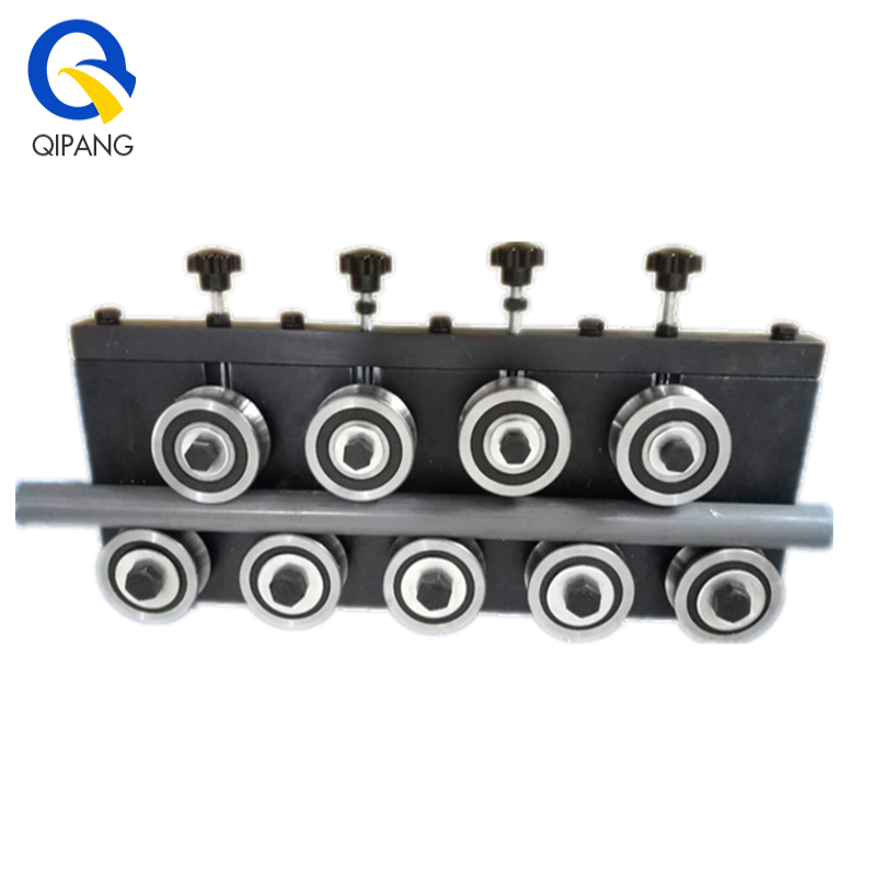 QIPANG JZQ 4-6/9 BV middle&low carbon steel wire big rollers straightener hand tool