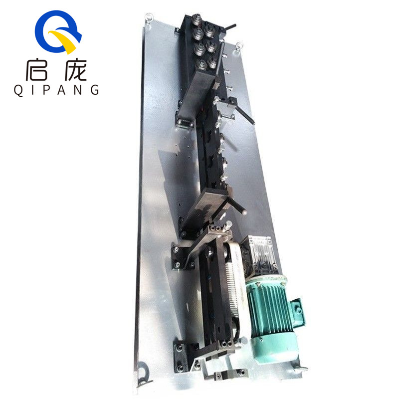 QIPANG low price custom China made steel coil wire straightener machine with belt traction