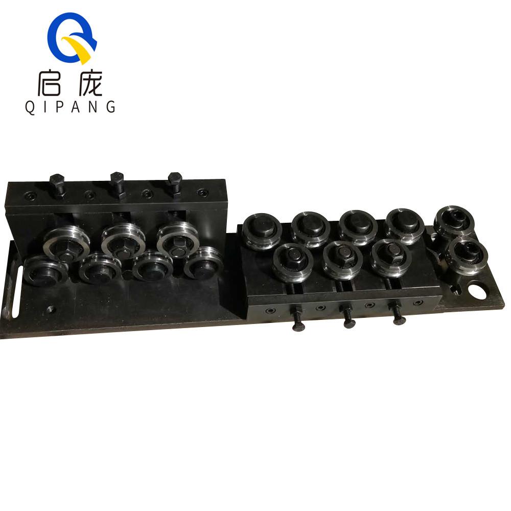 QIPANG 4-7 mm straightenermachine and cutting machine straightening mechanism