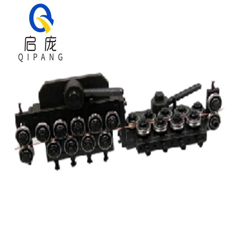 QIPANG 3-4mm straightener machine and cutting machine straightening mechanism