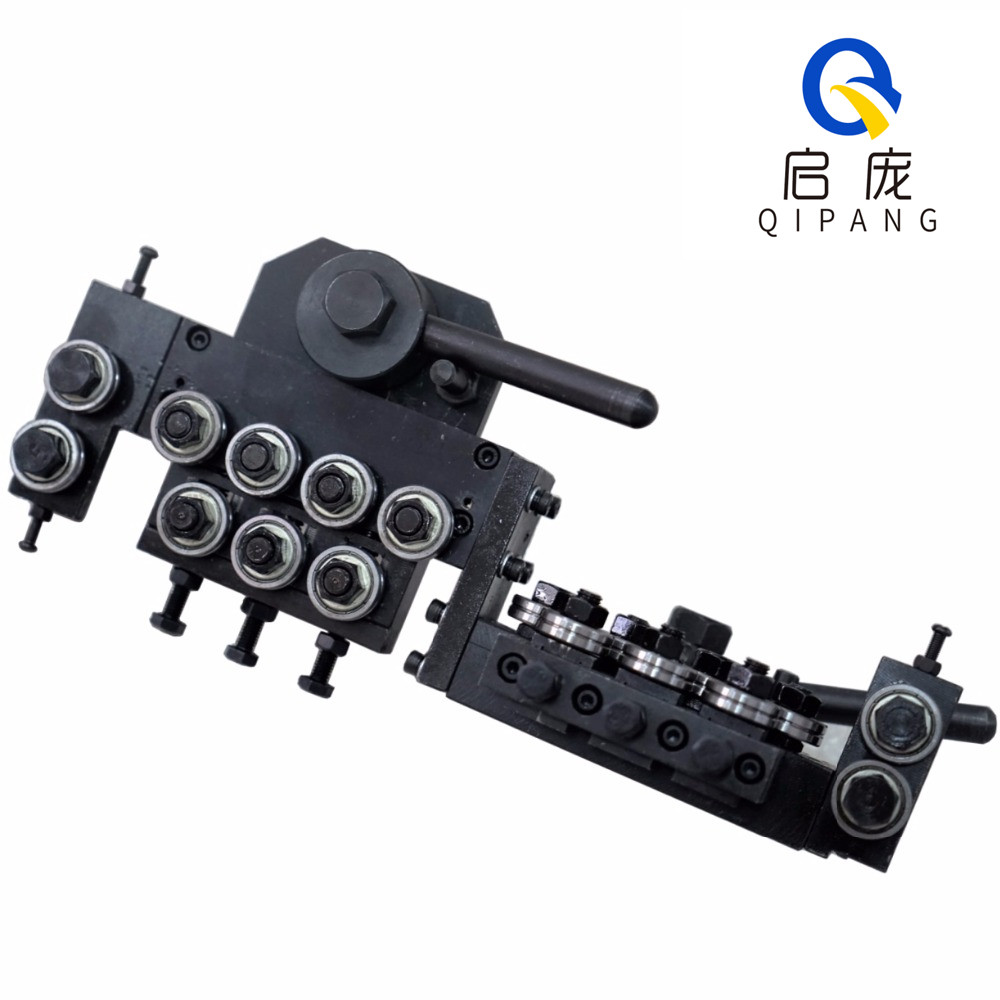 QIPANG 0.8-1.5mm straightener machine and cutting machine straightening mechanism